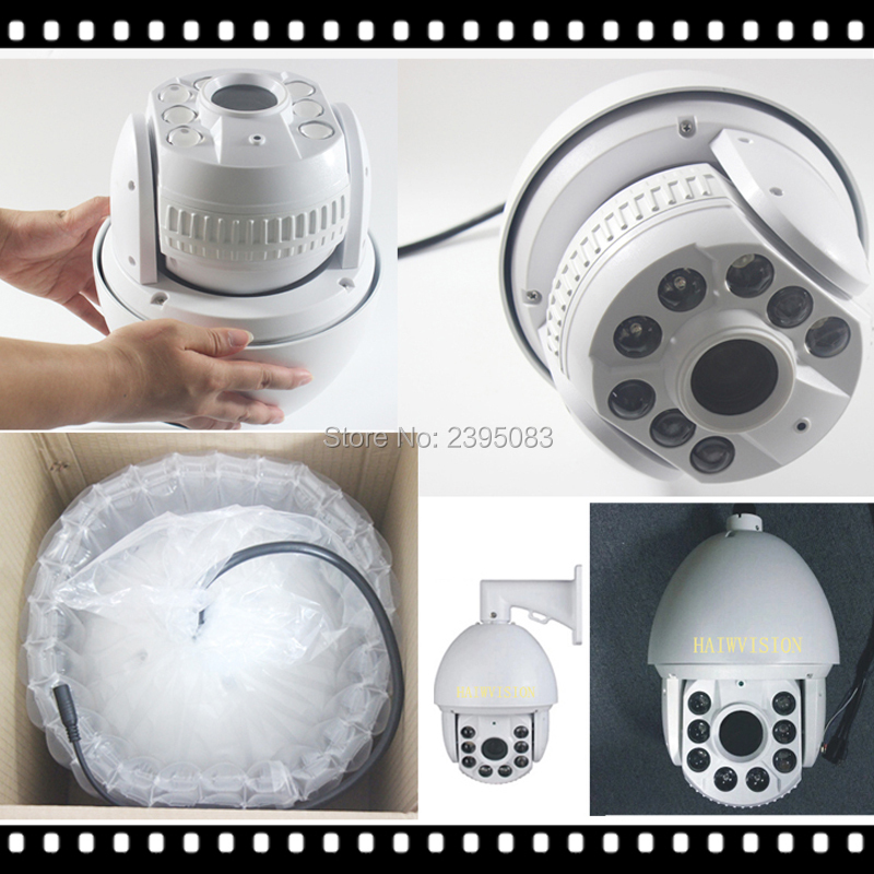 AHWVSE caméra dôme haute vitesse IP 1080 P 5MP PTZ caméra dôme IP avec Zoom 36X objectif 60mm Distance IR 150 m