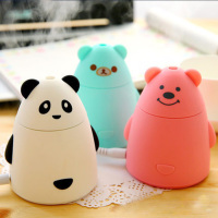Mini USB Air Humidifier Cartoon Aromatherapy Maker Fogger Oil Diffuser Cool Mist Essential Oil Diffuser For