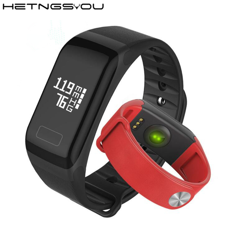 T1 Smart Bracelet Blood Pressure SmartBand Pedometer Pulse Oximeter Heart Rate Monitor Fitness Tracker Wristband for