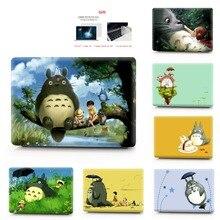 Totoro caixa de caderno impressão colorida, caixa para macbook air pro retina 11 12 13 15 16 polegadas, capa para novo 2020 pro a2251 a2289