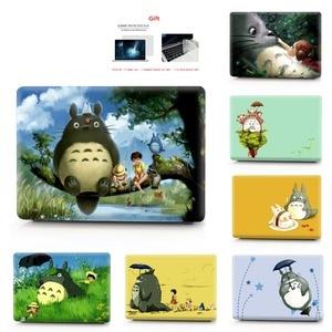 Image 1 - Totoro coque dimpression couleur étui pour ordinateur portable pour Macbook Air Pro Retina 11 12 13 15 16 pouces, étui pour nouveau 2020 Pro A2251 A2289