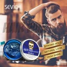 Hair-Styling-Cream Clay Hair-Wax Matte Strong Fashion 100ml Wax-Tslm2 Fragrances Natural
