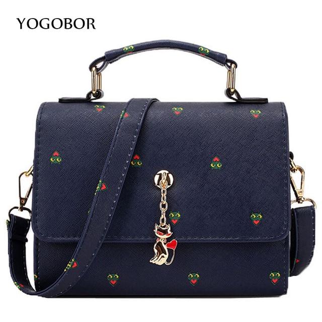 YOGOBOR Brand women handbag for women bags leather handbags women's pouch bolsas shoulder bag female messenger bags YHS0212