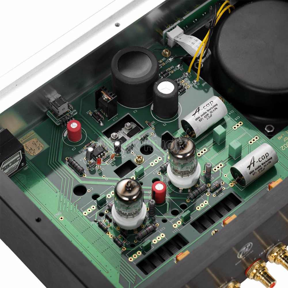 2018 Latest Douk Audio GE5670 Valve Tube Amplifier / Tube Preamplifier HiFi  Stereo Audiophile Class A single-ended Pre-Amp