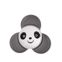 Good Quality Style Panda EDC Toys Triangular Hand Spinner Orqbar Metal Professional Fidget Spinner Autism And