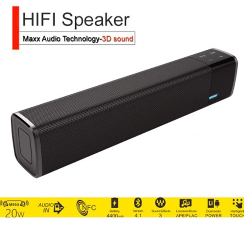 SWZYOR MIni Portable Super Bass bluetooth speaker 20w wireless Bass Sound Box Outdoor Speaker Subwoofer Hands-free Voice calls