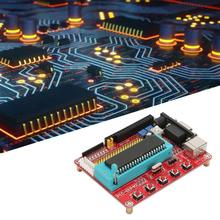 цена на PIC16F877A  Microcontroller Development Board Microchip Learning Board with RS232 Interface