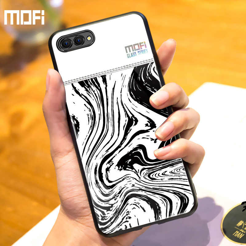 Honor 10 Case For Huawei Honor 10 Case Cover Mofi For Huawei Honor 10 Lite Case Luxury Couple Glass Vitreous Glasswork Vidrio