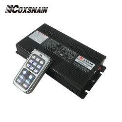 AMPLIFICADOR DE sirena inalámbrico para coche Coxswain de 400 W, sirena remota, 20 tonos, 2 interruptores de luz, (AS940) (solo sirena, sin altavoz)