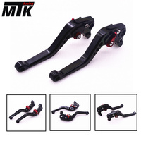 MTKRACING Motorbike Short CNC Brake Clutch Levers For Yamaha FZ1 FAZER FZ6R FZ8 XJ6 FZ6 MT