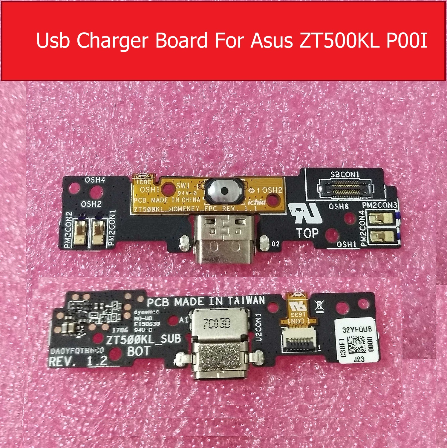 Genuine USB charger Port Board For ASUS Z500KL P001 ZT500KL Charging Jack Dock Board Replacement Repair PartsGenuine USB charger Port Board For ASUS Z500KL P001 ZT500KL Charging Jack Dock Board Replacement Repair Parts