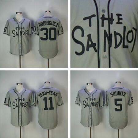 Stitched The Sandlot Benny  The Jet  Rodriguez 30 Baseball Jersey Alan   Yeah Yeah  McClennan 11 Michael  Squints  Palledorous -in Baseball Jerseys  from ... 2e72f071d