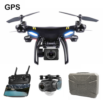 Pro GPS Drone With Camera HD WIFI Dron Altitude Hold Follow Me RC Quadrocopter 300m fpv Drone With Headless Mode Toys