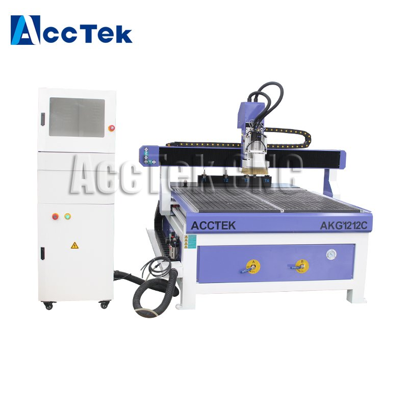 Auto tool changer system for linear ATC automatic 3d wood carving cnc router