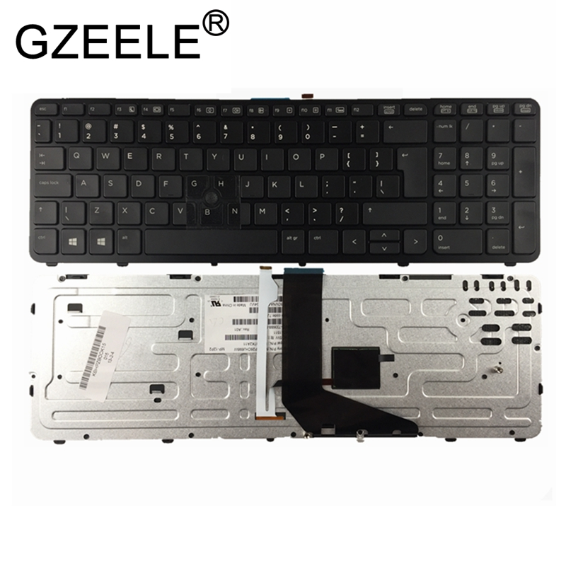 GZEELE new English laptop keyboard FOR HP for ZBOOK 15 17 G1