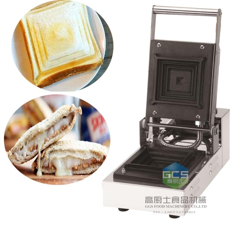 Livraison gratuite Machine de presse à Sandwich grille-pain grille-pain machine à farce sandwich pressée à chaud