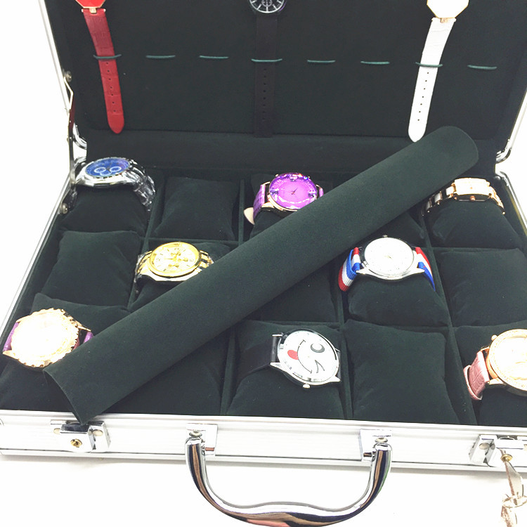 Watch handle box Portable Watch Seller Case Luggage Watches Collect Business DIY Jewelry Exhibition Wristwatch Pedlar Xinlu Box