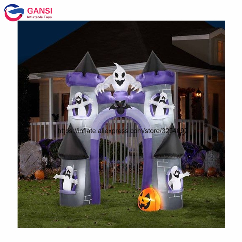 inflatable haunted house01