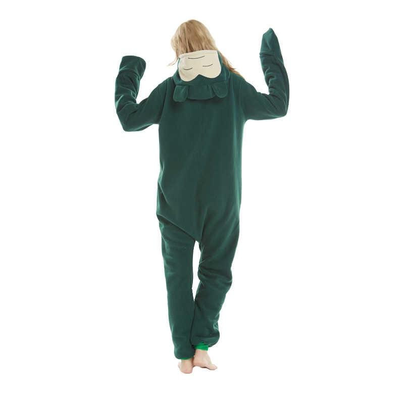bd756ed533 ... Snorlax Kigurumi Adult Onesies Animal Shark Pajamas Lemur Sleepwear  Pikachu Pyjama Nightwear Carnival Cosplay Costumes ...