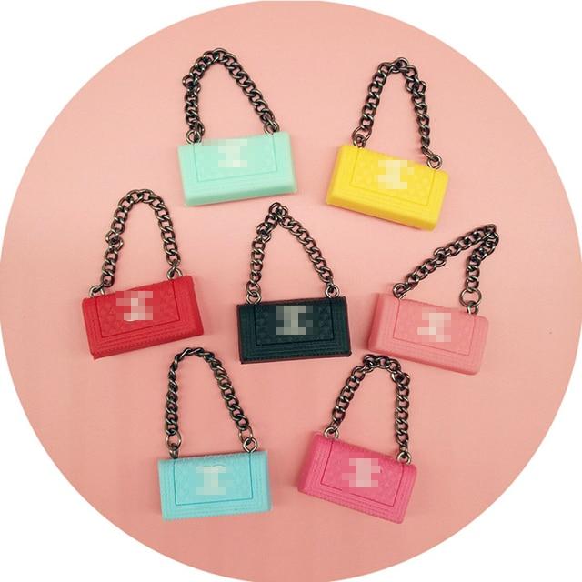 1pcs Colorful Mini Brand Doll Bag For Blyth Doll Shopping Bag For
