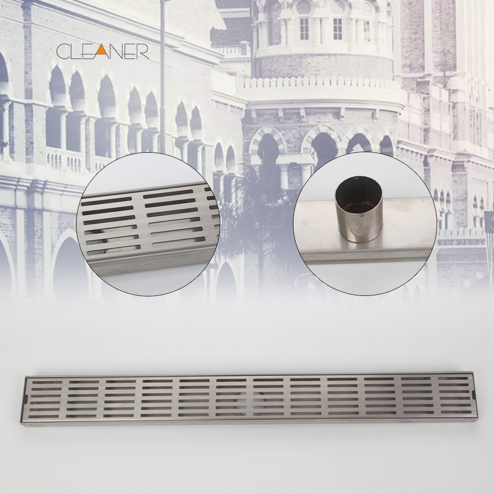 Free Shipping Drain 24-inch Linear Shower Drain Rectangle - Chrome Plated Stainless Common Floor Drain 5677 диски helo he844 chrome plated r20