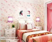 beibehang Pastoral modern classic 3d wallpaper Dandelion nonwovens living room bedroom princess papier peint