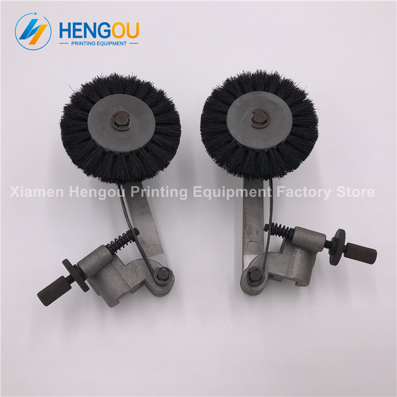 8 Pairs mit. printing machine paper wheel Offset Printed parts brush wheel