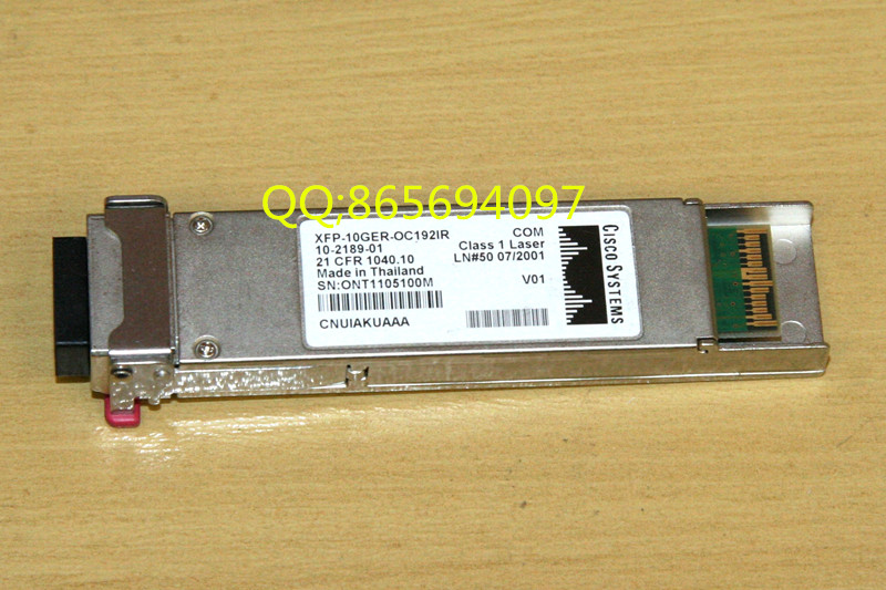 new new XFP-10GER-OC192IR = XFP Gigabit single-mode 40KM 1550NM