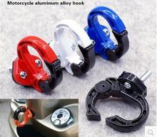 4 colors Available motorcycle hook Multi use Accessories red black blue orange motorbike Hanger Helmet Gadget Glove Claw Hook