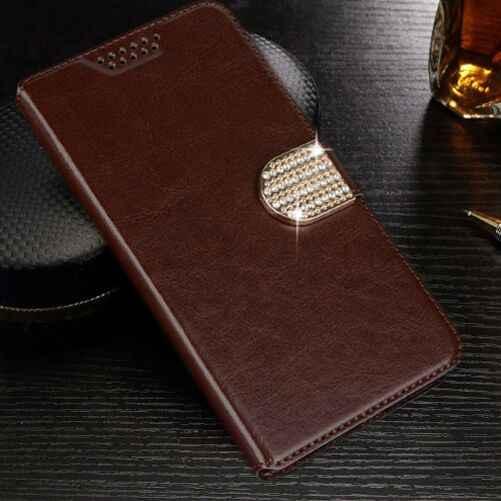 الوجه محفظة من جلد pu حالات ل فيرتكس اعجاب الربيع الغروب انقر NFC النمر زيون 3G 4G حجر XL واقية غطاء إطار هاتف محمول