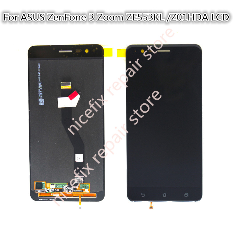 For ASUS ZenFone 3 Zoom ZE553KL Z01HDA LCD Display Touch Screen Digitizer Assembly Replacement For ASUS