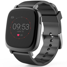 Multi-Function Smart Colorful Screen Watch With Heart-Rate Monitor Message Notification Sports Record Compatible IOS And Android