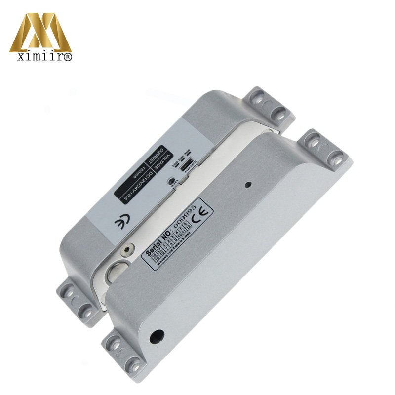 Electric Bolt Lock For Fully Frameless Door Access Control System Door Lock Electric Lock Low Temperature XM-640