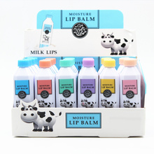 High Quality New Arrival Cute Milk Moisturizing Lip Balm Lip Protector Sweet Taste Lips Care Beauty Cosmetics For Beauty