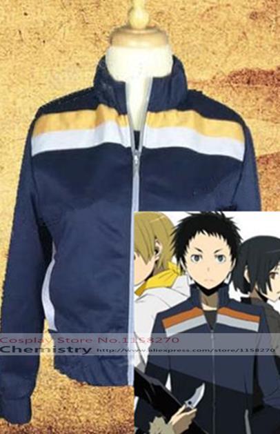 New Durarara!! Mikado Ryugamine Cosplay jacket Costume Coat