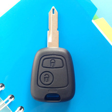 2pcs/lot In Stock New Uncut Remote Blade Key Shell For Peugeot 206 306 106 405 205