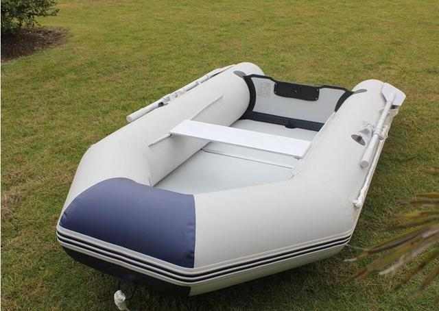 2016 New 4 Person Dinghy Thickened Assault Boats Hard Bottom