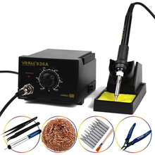 YIHUA 936A Soldering Station High Power Anti-static Temperature Adjustable Thermostatic Electric Soldering Iron стоимость