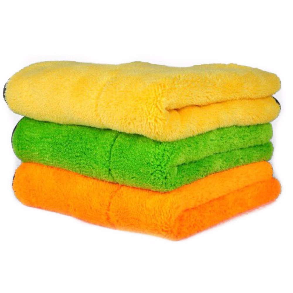 New Thickened Super-absorbent Coral Cashmere Towels Car Care Wax Polishing Detailing Towels Car Washing Drying Towel N8