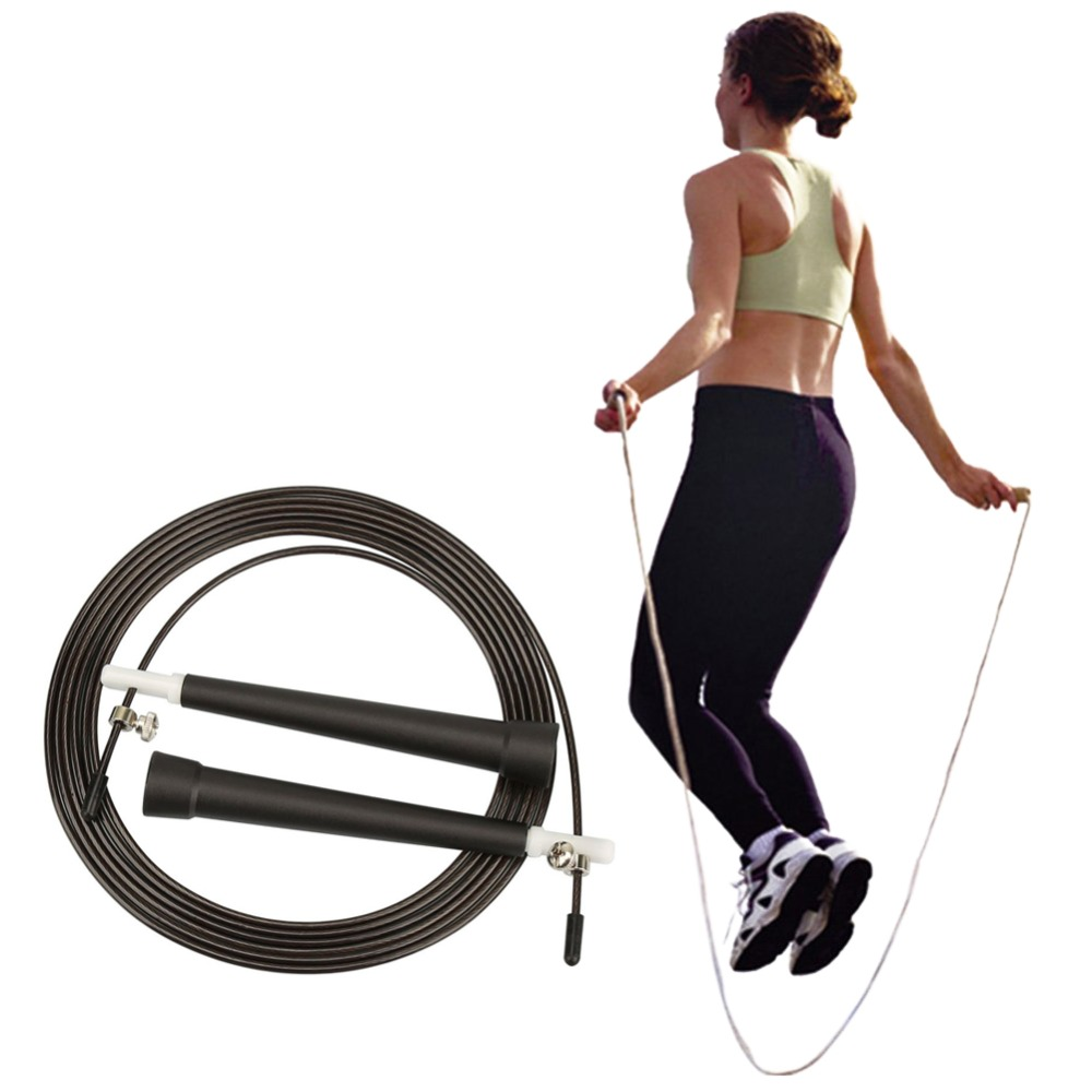 Hearty High-quality Adjustable Length Single Jump Rope For Sports Fitness Latest Technology Outdoor Sports