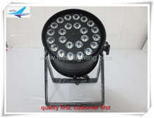Free shipping 12/lot 24x10w 4 in 1 quad-color led par can