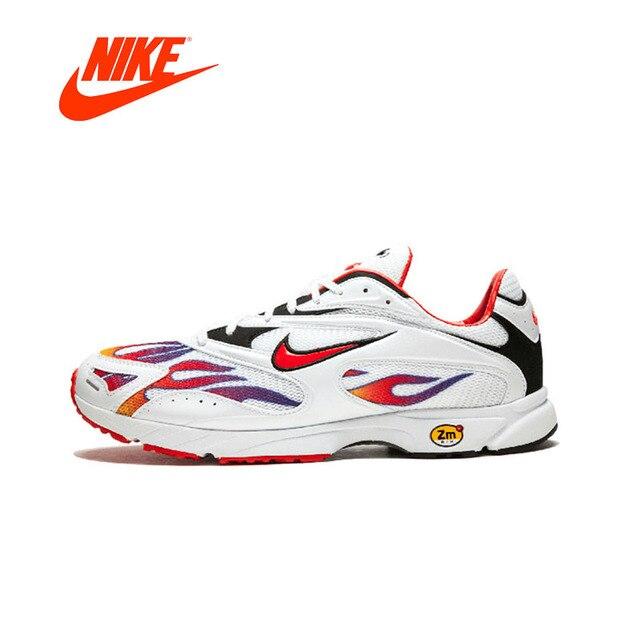 2b22397f0e Original New Arrival Authentic Supreme x Nike Zoom Streak Spectrum Plus  Men's Running Shoes Sport Outdoor Sneakers AQ1279-100