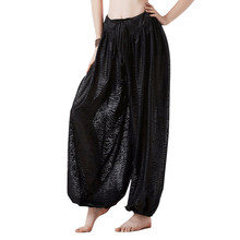 New style Gypsy Trousers Bloomers ATS Harem Pants American Tribal Belly DanceFull Pantaloons Costume Tiger stripes
