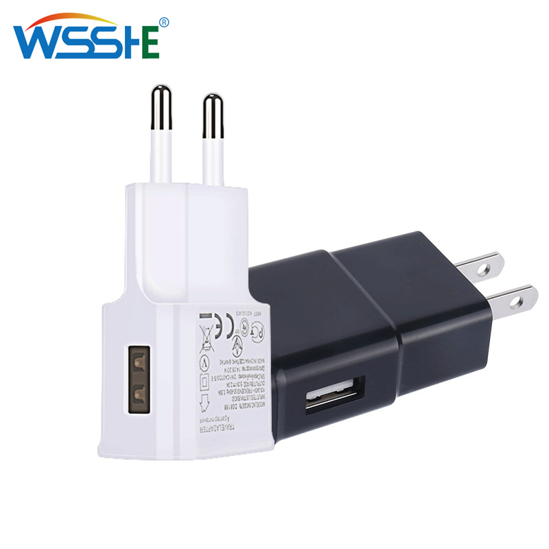 5V 2.1A USB Charger for iPhone X 8 7 6 iPad Fast Wall Charger EU Adapter 5 V 2A for Samsung S9 Xiaomi Mi Mobile Phone Charger