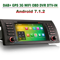7 Android 7 1 DVD Autoradio GPS SAT NAV DAB DVR Wifi Car Cd Player For