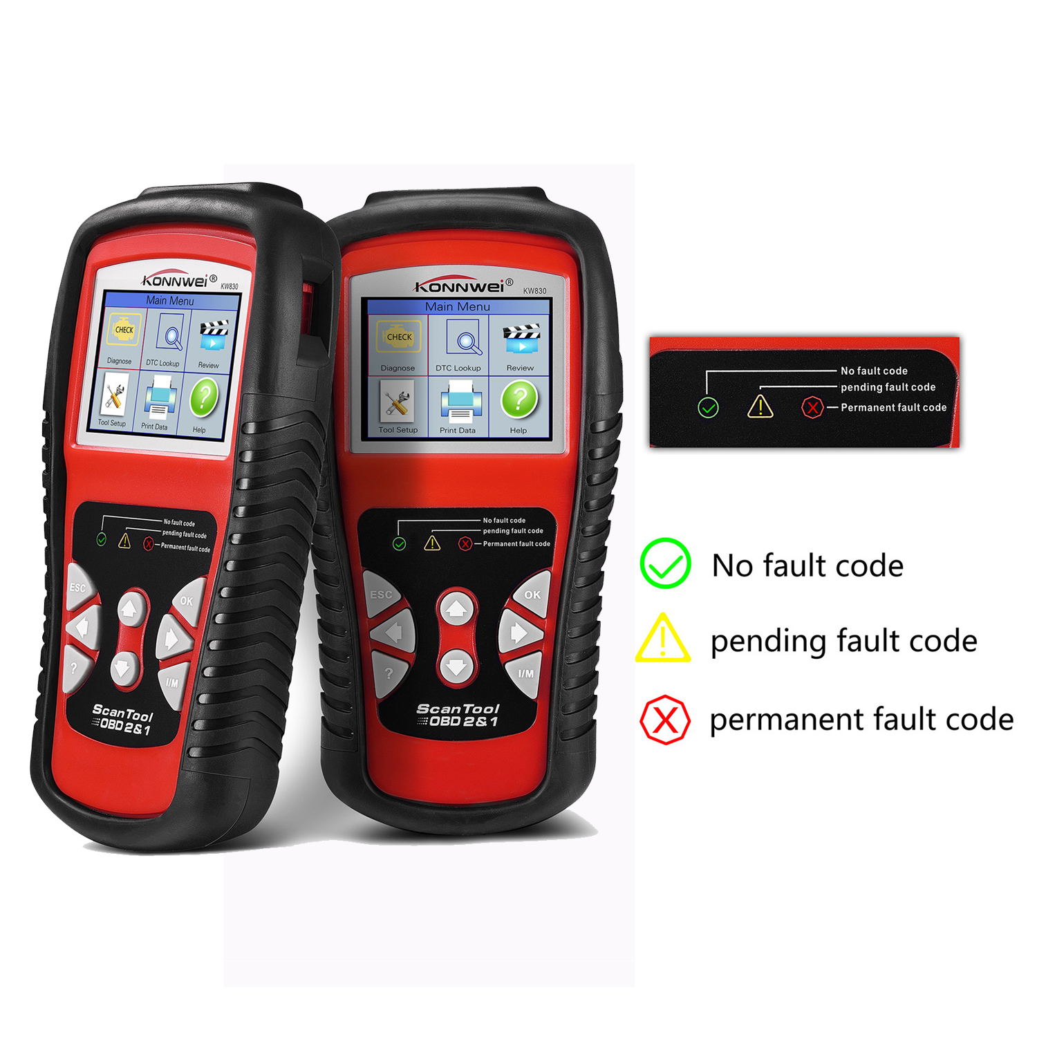 Auto Diagnostic Scanner OBD2 EOBD Car Diagnostics Error Code Reader Car Detector Automotive Obd2 Scanner Support 6 Languages(China)
