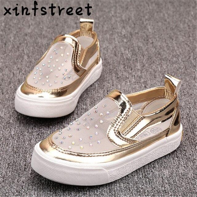 Kinderschoenen Maat 23.Kids Sneakers Voor Meisjes Hot Instappers Kinderen Schoenen Prinses