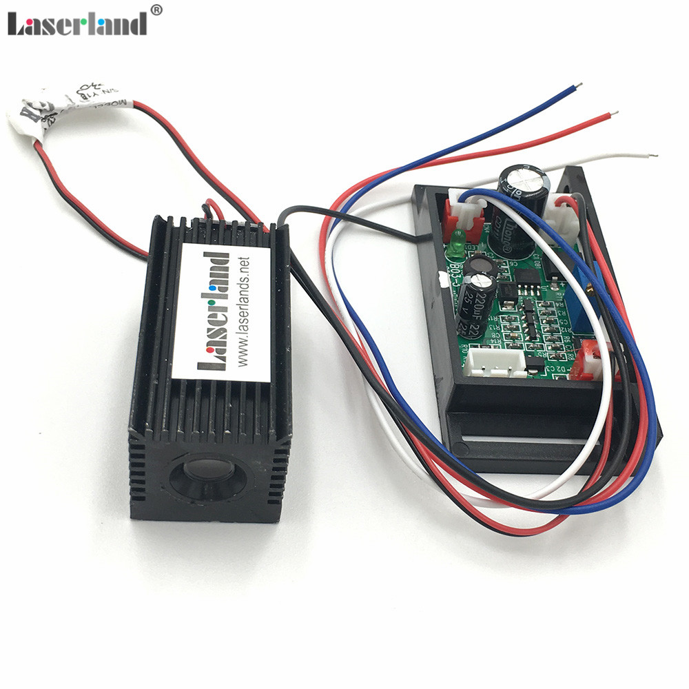 532nm 30mW - 50mW Green Laser Dot Diode Module with Fan Cooling TTL 0-10KHZ 4hours Long Time Continuous Working 12VDC good price free shipping 80mw 532nm green laser diode module with tt30k