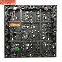 Frete grátis yao caixilhos indoor smd p2.5 cor cheia tela led 64x64 pixels painéis matriz módulo