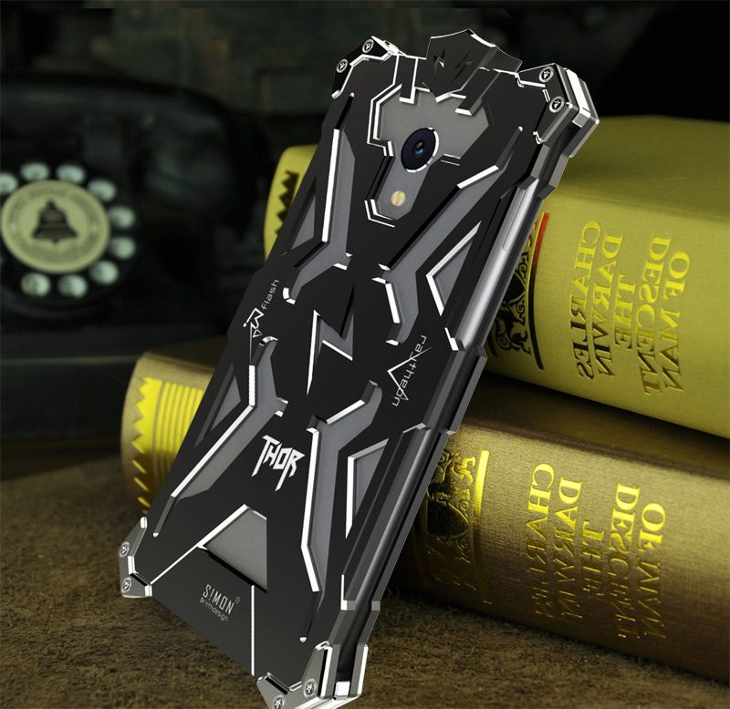 Phone Case for Meilan 3 3s Note 3 brand Zimon Thor Series Shockproof Aviation Aluminum Metal